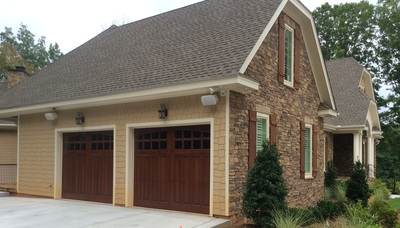 Just Competed Garage Doors Near Raleigh Nc Wood Creations